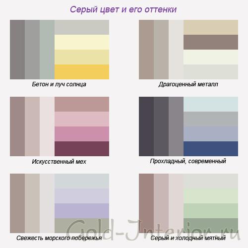 С чем сочетается серый цвет в интерьере кухни фото