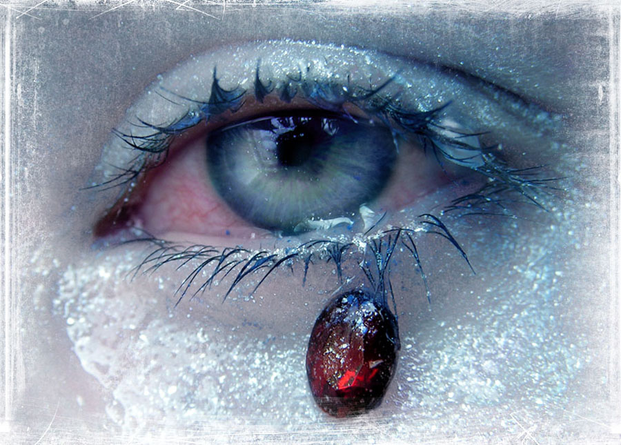 замерший глаз картинка ягодка