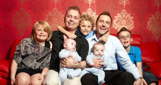 фото гей семьи