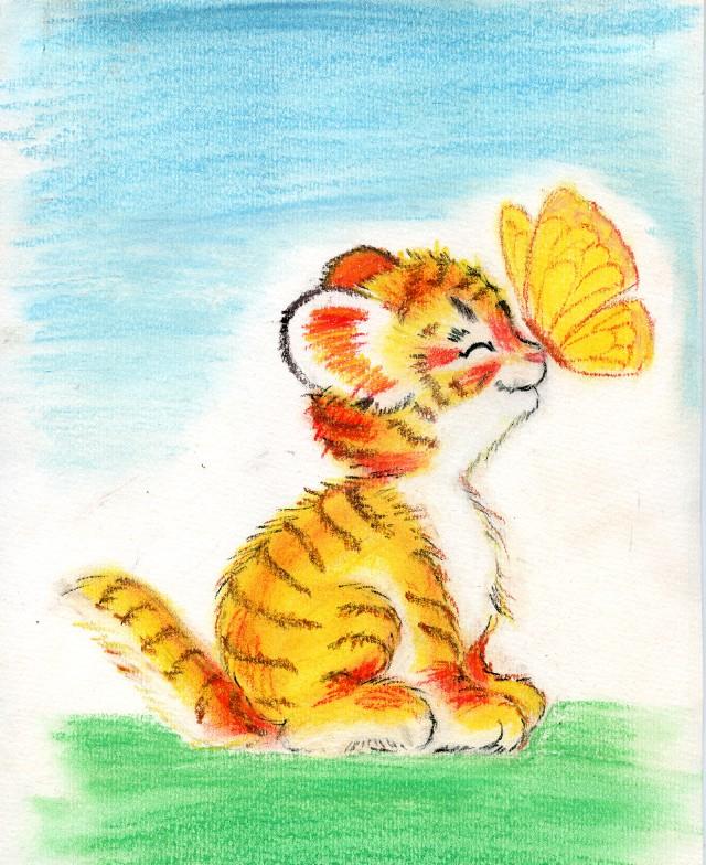 Четверг, тигренок любимый картинки