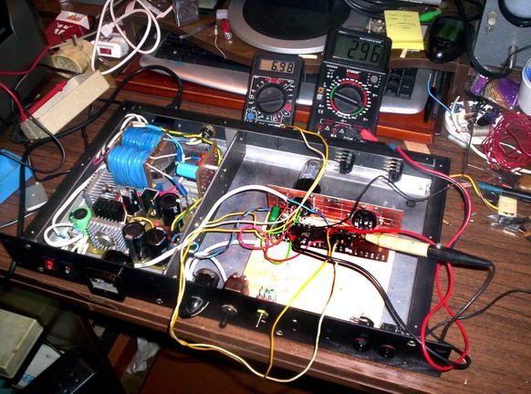 ламповый преамп для гитары схема - Всемирная схемотехника.