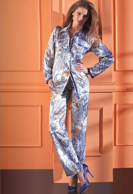 9db5c9663c5fe Morbid-dox — Шелковые брючные пижамы